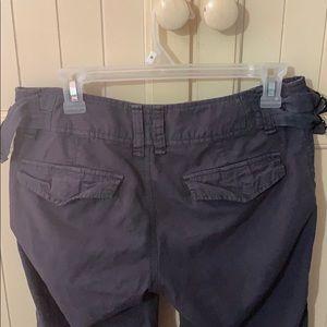 Free People Pants & Jumpsuits - Free People Gray Capris